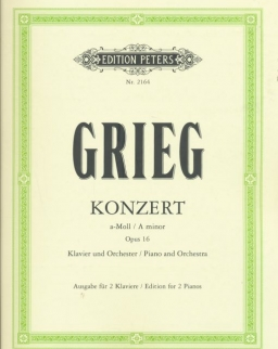 Edvard Grieg: Concerto for Piano (2 zongora)