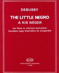 Claude Debusssy: Kis néger (fuvola vagy klarinét, zongorakísérettel)