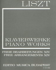 Liszt Ferenc: Freie Bearbeitungen 14. (fűzött)