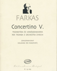 Farkas Ferenc: Concertino trombitára zongorakísérettel