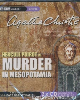Agatha Christie: Hercule Poirot in Murder in Mesopotamia - Audio Book (2 CD)