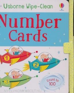 Wipe Clean Number Cards