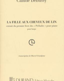 Claude Debussy: La fille aux cheveux de lin - hárfára