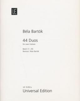 Bartók Béla: 44 Duó 1.