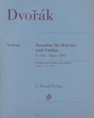 Antonin Dvorák: Sonatine für Klavier und Violine G-dúr op. 100
