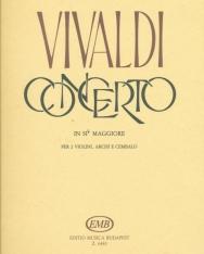 Antonio Vivaldi: Concerto for 2 Violin and Piano (B-dúr)
