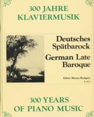 300 év zongoramuzsikája - Német későbarokk