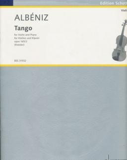 Isaac Albéniz: Tango hegedűre, zongorakísérettel