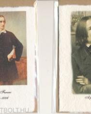 Képeslap - Liszt Ferenc  (merített papír, kézműves)