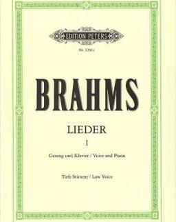 Johannes Brahms: Lieder I. tiefe
