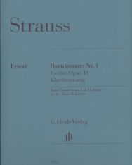 Richard Strauss: Concerto for Horn No. 1 op. 11 (kürtre, zongorakísérettel)