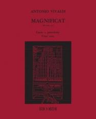 Antonio Vivaldi: Magnificat - zongorakivonat