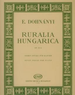 Dohnányi Ernő: Ruralia Hungarica zongorára