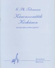 Georg Philipp Telemann: Kánonszonáták, Körkánon 2 altfurulyára (vagy fuv. vagy hegedű)