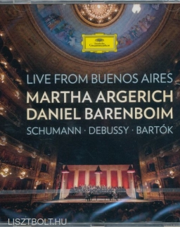 Argerich & Barenboim Live from Buenos Aires