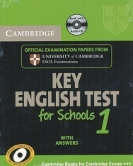 Cambridge Key English Test for Schools 1 Official Examination Past Papers Student's Book with Answers and Audio CD Self-Study Pack