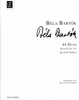 Bartók Béla: 44 Duó 2.