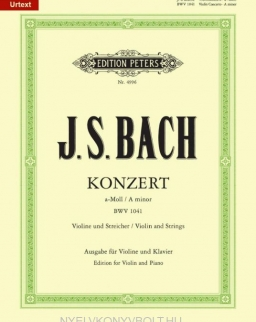 Johann Sebastian Bach: Concerto for Violin (a-moll) Urtext