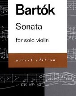 Bartók Béla: Sonata for Solo Violin
