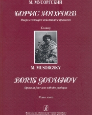 Modest Mussorgsky: Boris Godunov zongorakivonat (orosz)