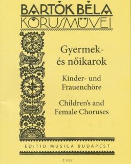 Bartók Béla: Gyermek- és nőikarok (27 egyneműkar)
