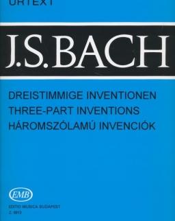 Johann Sebastian Bach: Háromszólamú invenciók