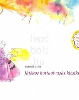 Bosnyák Csilla: Játékos kottaolvasás kicsiknek 1. (illusztrált munkafüzet matricákkal)