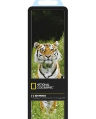 National Geographic 3-D Bookmark - Siberian Tiger