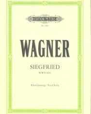 Richard Wagner: Siegfried - zongorakivonat (német)