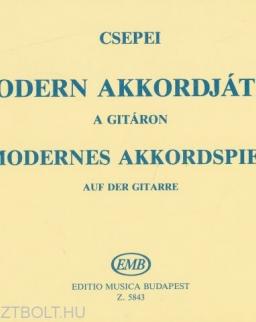 Csepei Tibor: Modern akkordjáték a gitáron