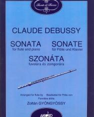 Claude Debussy: Sonata (fuvolára, Gyöngyössy Zoltán átiratában)