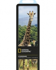 National Geographic 3-D Bookmark - Giraffes