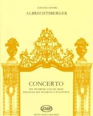 Albrechtsberger: Concerto harsonára