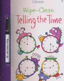 Usborne Wipe-Clean Telling the Time
