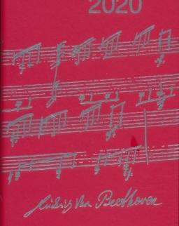 Music Diary 2020 (piros)