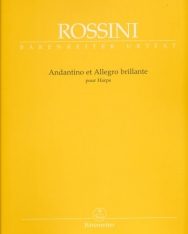 Gioachino Rossini: Andantino et Allegro brillante - hárfára