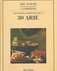 Alessandro Parisotti: Arie Antiche 30 Arie vol. 2.