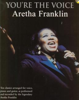 Aretha Franklin: You're the Voice (ének-zongora-gitár, CD-melléklettel)