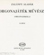 Zalánfy Aladár: Az orgonajáték művészete 2.
