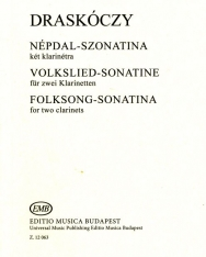 Draskóczy: Népdal-szonatina 2 klarinétra
