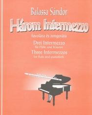 Balassa Sándor: Három intermezzo fuvolára és zongorára
