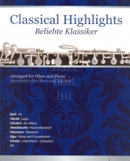 Classical Highlights for Oboe and Piano