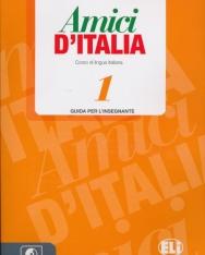 Amici D'Italia 1 Guida per L'Insegnante + CD Audio (3)