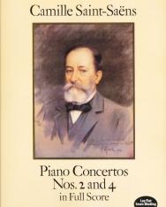 Camille Saint-Saens: Piano Concertos 2,4 - partitúra
