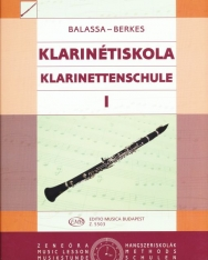 Balassa-Berkes: Klarinétiskola 1.
