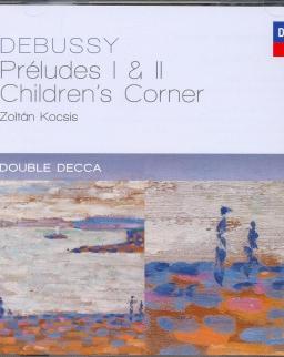 Claude Debussy: Préludes I-II, Children's Corner - 2 CD