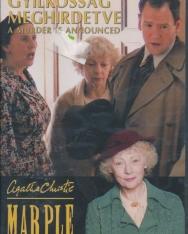 Gyilkosság meghirdetve DVD