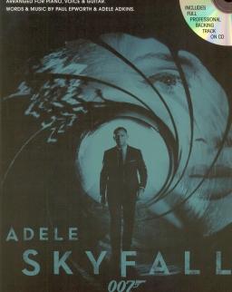 Adele: Skyfall - ének-zongora + CD