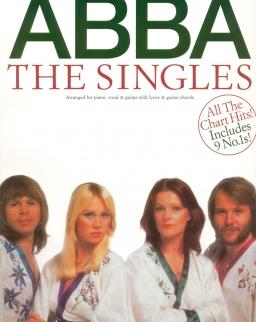 ABBA: The singles - ének-zongora-gitár