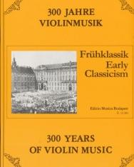 300 év hegedűmuzsikája - Korai klasszika